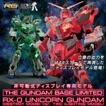 เปิดรับPreorder มีค่ามัดจำ 2000 บาทRG 1/144 GUNDAM BASE RX-0 Unicorn Gundam (Destroy model) ver. TWC [LIGHTING MODEL]