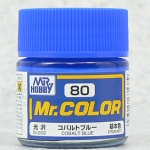 mr.color 80 cobalt blue 10ml.