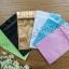 ซองฟอยล์ซิปล็อค สีฟ้าเงา (Glossy Foil Flat Pouch with Zipper - Tiffany Blue) thumbnail 4