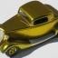 ALC-706 candy golden yellow enamel (1 oz.)