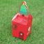 กล่องลายคริสต์มาส สีแดง 1 ใบ thumbnail 1