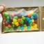ขนาด 10x18 cm. ถุงซิปล็อคหน้าขุ่น-ทอง หลังเงิน ก้นแบน thumbnail 3