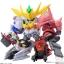 เปิดรับPreorder มีค่ามัดจำ 400 บาท Mini Pla [Gundam Build Divers] Super Shock Gundam (Shokugan) (ราคาพรี box set) ลอต JP