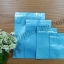 ซองฟอยล์ซิปล็อค สีฟ้าเงา (Glossy Foil Flat Pouch with Zipper - Tiffany Blue) thumbnail 1