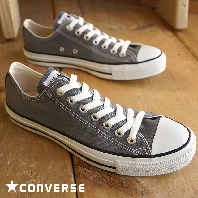 4149d672a73d CONVERSE CANVAS ALL STAR OX - GRAY - Converse Japan