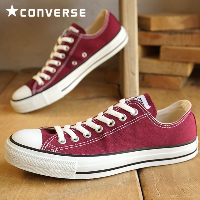 ed7ec960beb9 CONVERSE CANVAS ALL STAR OX - MAROON - Converse Japan