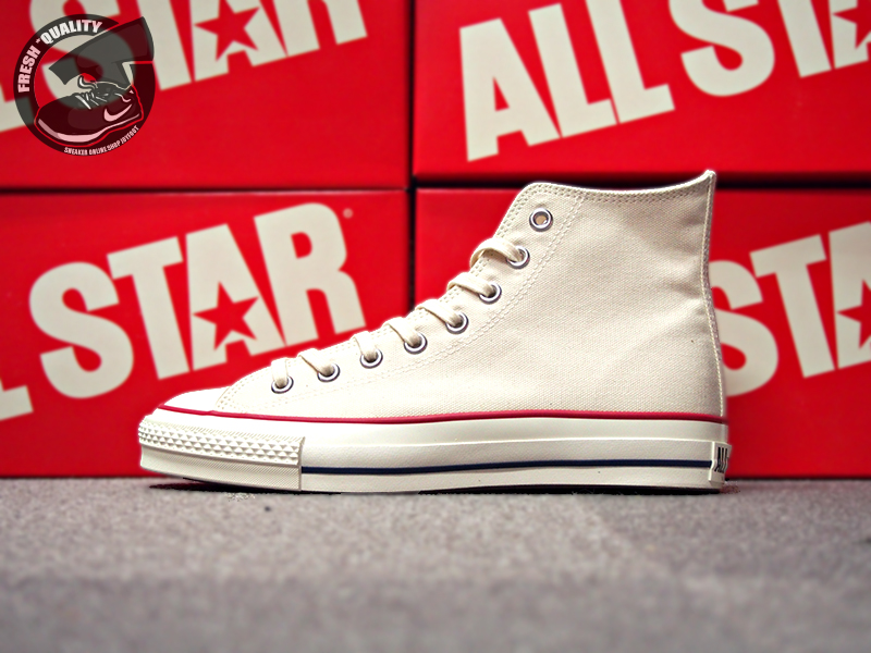 04dbdf387e4e CONVERSE CANVAS ALL STAR J HI NATURAL WHITE  MADE IN JAPAN ...