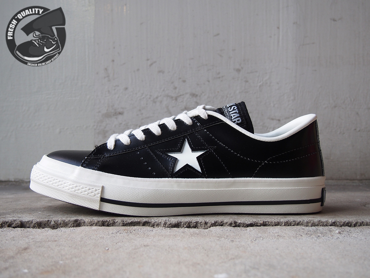 CONVERSE ONE STAR J - MADE IN JAPAN (BLACK WHITE) - Converse Japan ... 618e3feaa