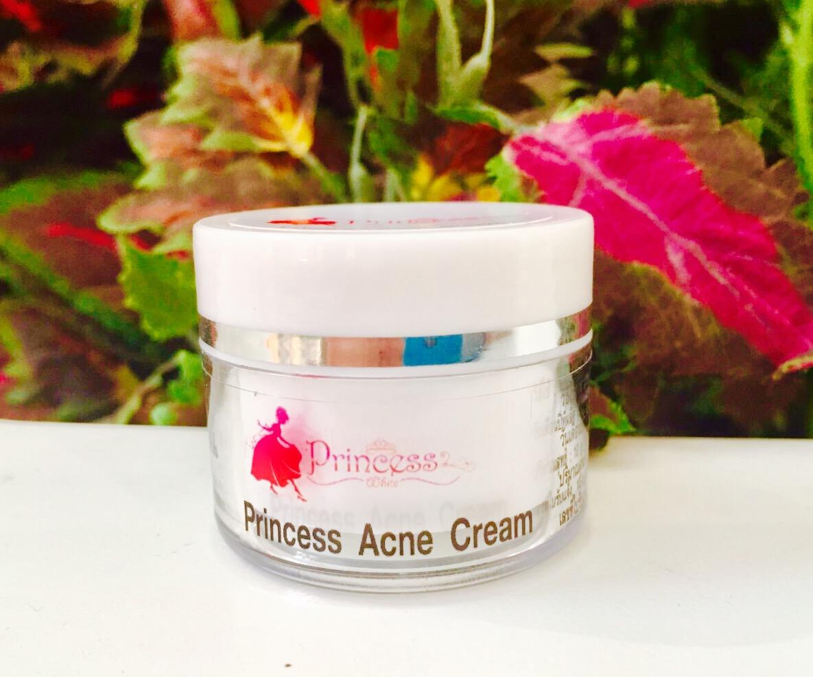 ครีมรักษาสิวหน้าใส Princess Acne Cream