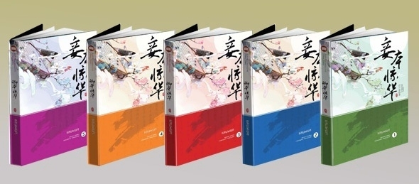 แสนพยศ ไม่มีกล่อง (ปกอ่อน 5 เล่มจบ + โปสการ์ด + ที่คั่น) / xiziqing เขียน, ห้องสมุด แปล ***ใหม่/มือหนึ่ง พร้อมส่ง ส่งฟรี แถมปก