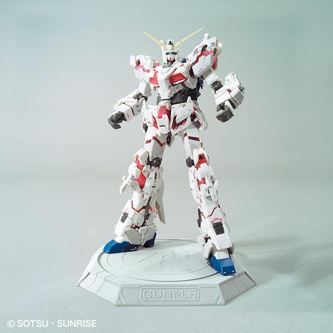 Action Base 01 Gundam Unicorn Version GUNPLA Model kit BANDAI